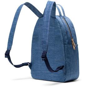 Herschel Nova Small Backpack 17L, faded denim/indigo denim